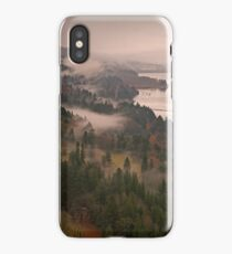 Heavy Mist in the Gorge iPhone Case/Skin