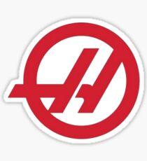 haas team Sticker