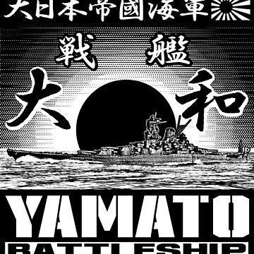 Battleship Yamato by deathdagger