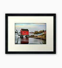 Blue Rocks, Nova Scotia Framed Print