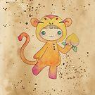 Kigurumi Chinese Zodiac: Monkey by Sophia Adalaine Zhou