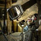Helmet in Iraq by 1SG Little Top