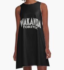 Vestido acampanado Wakanda para siempre