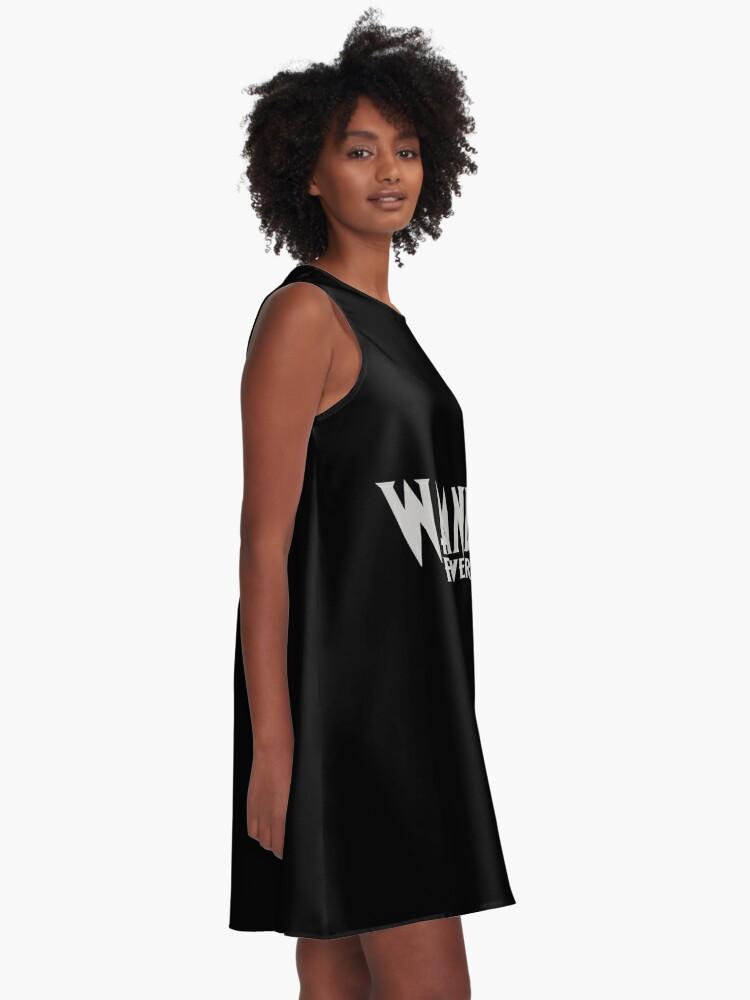 Alternate view of Wakanda Forever A-Line Dress