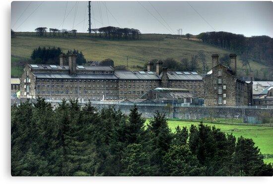 Dartmoor Prison (Colour) by Mark Bowden