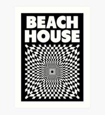 Lámina artística Casa en la playa