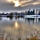 Winter Lake~ by WJPhotography
