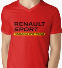 Renault sport Men's V-Neck T-Shirt