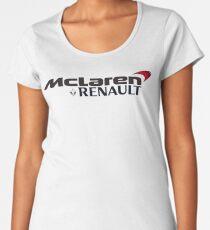 mclaren, renault Women's Premium T-Shirt