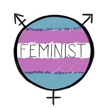 Trans Feminist by Spupergirl