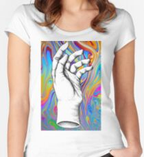 Trip Hand Women's Fitted Scoop T-Shirt