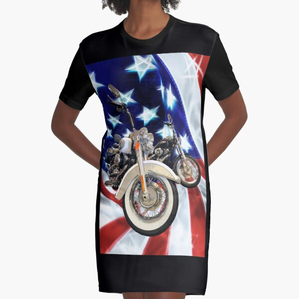 Harley Dream Motorcycle Motor Bike Biker Girl Mens Milwaukee T-shirt S-4XL Size
