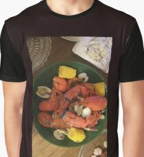 Lobster Lovers Graphic T-Shirt