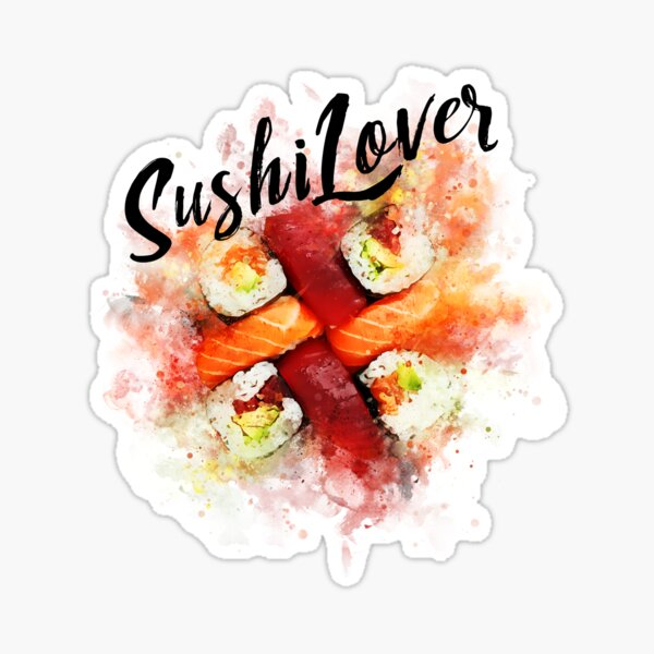 Sushi Lovers Sticker