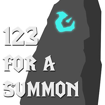123 For A Summon by gingrjim