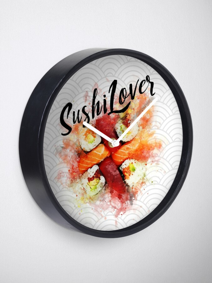 Alternate view of Sushi Lovers Clock