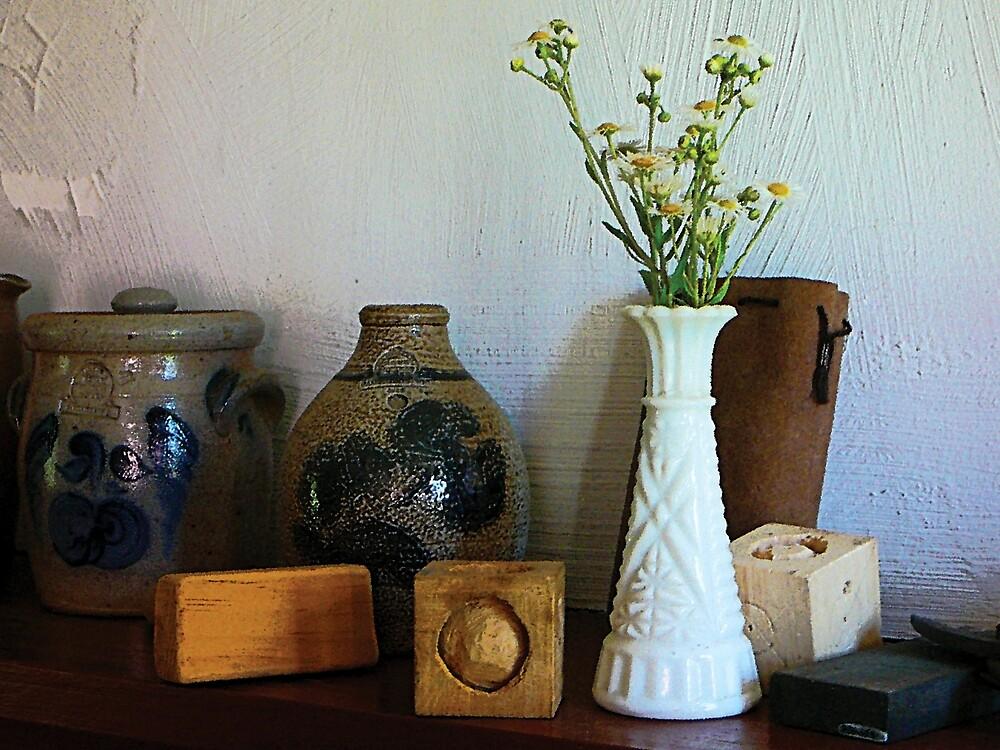 Vase With Wild Flowers by Susan Savad