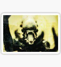 Alien Sticker