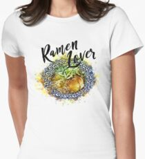 Ramen Lover Women's Fitted T-Shirt