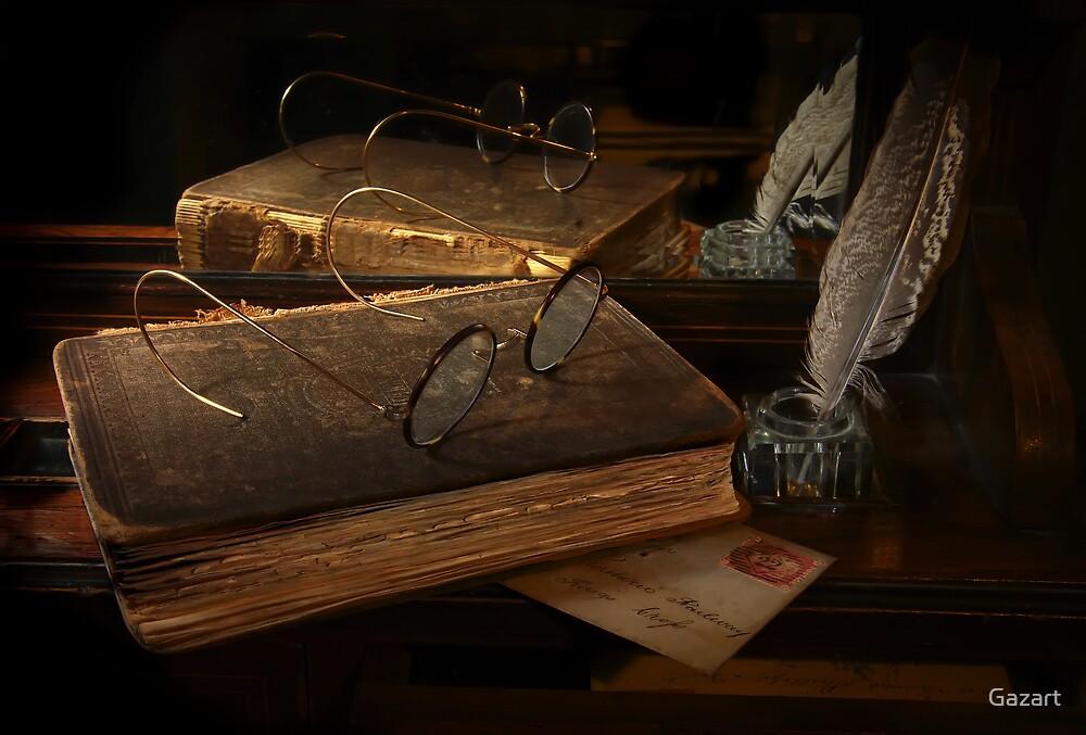 Old Correspondence by Gazart