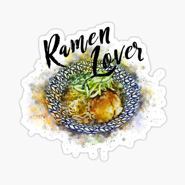 Ramen Lover Sticker