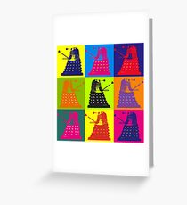 """Exterminate""  Greeting Card"