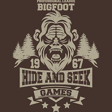 Hide and Seek Games by JRBERGER