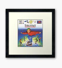 Internet! Framed Print