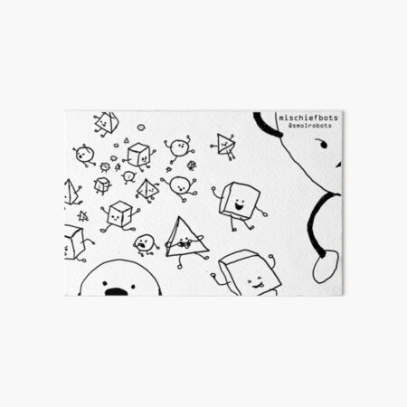 Mischiefbots Art Board Print