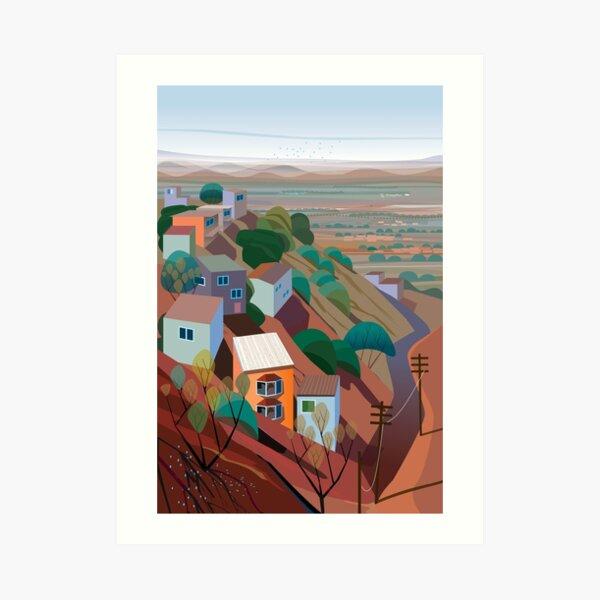 Nogales del Cerro Art Print