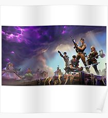 Fortnite Battle Royale  Poster