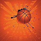 Grunge Basketball 4 von AnnArtshock