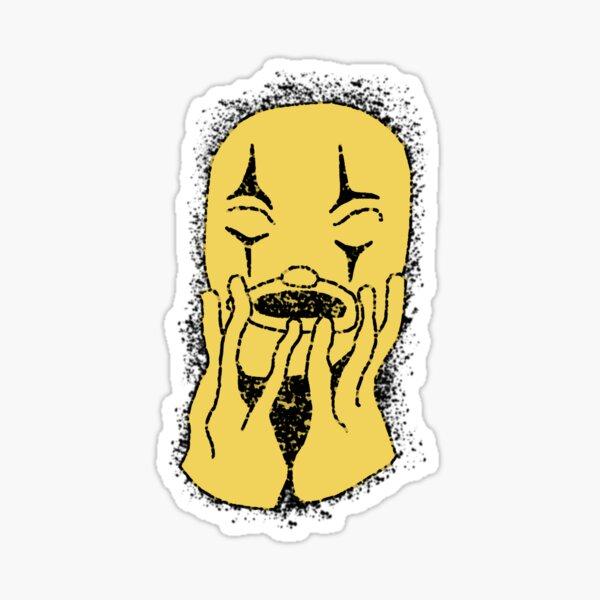 Psychedelic Clown Sticker