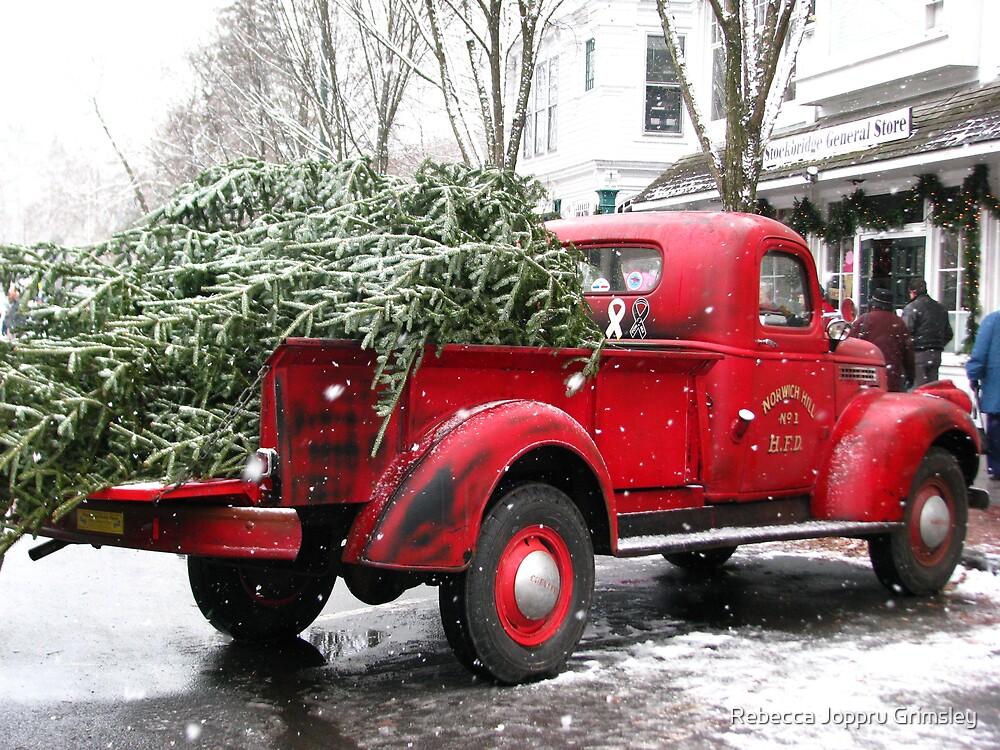 Chevy Pickup Truck  by Rebecca Joppru Connolly