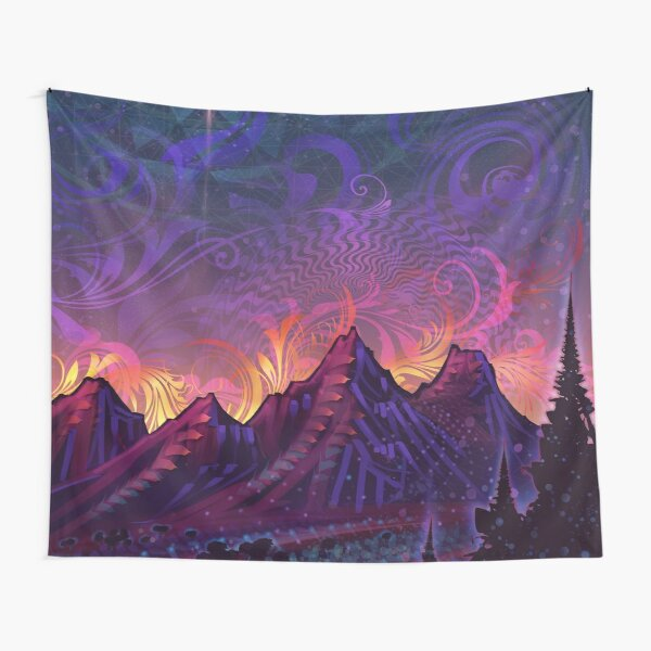 Sonic Moon Tapestry