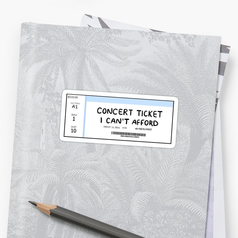 «Ticket de concierto» de uyuchu