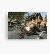 Crysis Action Canvas Print