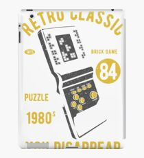RETRO CLASSIC TETRIS 1980 IF YOU FIT IN YOU DISAPPEAR     T-SHIRT iPad Case/Skin
