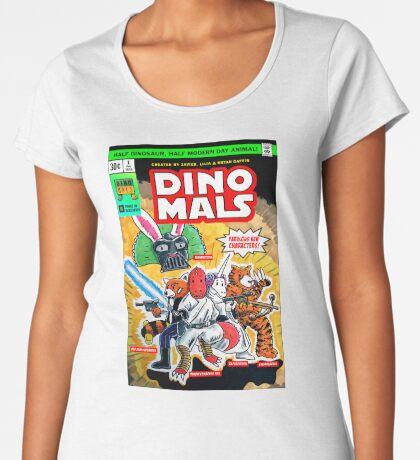 DINOMALS Cover Premium Scoop T-Shirt