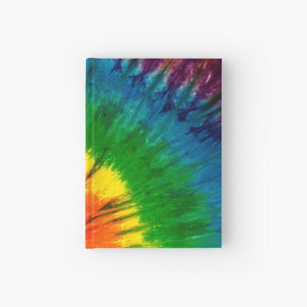 Bright Spiral Tie Dye Hardcover Journal