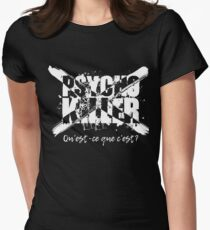 Psycho Killer Women's Fitted T-Shirt