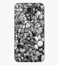 Custom iPhone or Samsung Galaxy Cell Phone Cases and Skins with Black and White Grayscale Gravel Texture Design Case/Skin for Samsung Galaxy