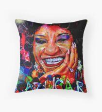 Celia Cruz, AZÚCAR! Throw Pillow