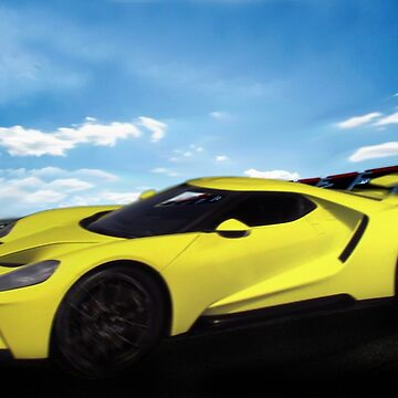 2018 Ford GT at the Track by ChasSinklier