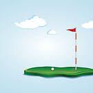 Golffeld 2 von AnnArtshock