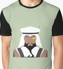 Rashid Vector Graphic T-Shirt