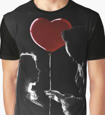 Pennywise's Heart Balloon Graphic T-Shirt