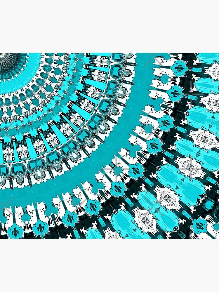 Aquamarine Rays by perkinsdesigns