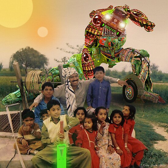 Karachi Kickbots are a Family's Best Friend by Kenny Irwin