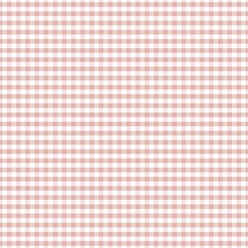 Pastel Mellow Rose Pink Gingham by coverinlove